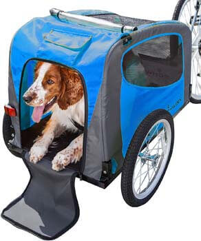 5. Schwinn Rascal Bike Pet Trailer, For Small and Large Dogs