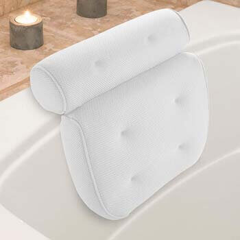 6. Idle Hippo Bath Pillow Bathtub Pillow