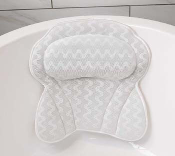 4. Soothing Company Bath Pillow by Soothing Company