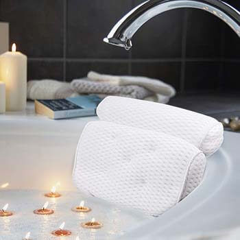 2. AmazeFan Bath Pillow, Bathtub Spa Pillow