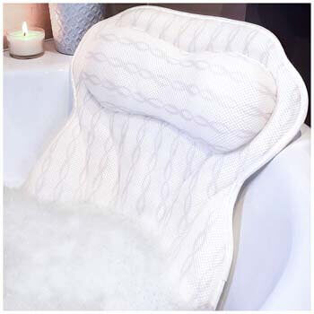 3. KANDOONA Luxury Bath Pillow Bathtub Pillow