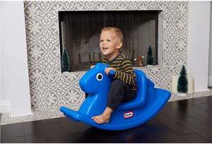 2. Little Tikes Rocking Horse Blue