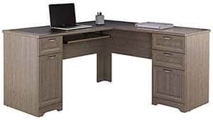 10. Realspace Magellan Collection L-Shaped Desk
