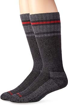 7. Carhartt Men's Heavy Duty Thermal Crew 2-Pair Socks