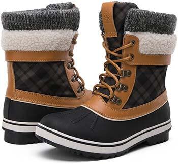 7. GLOBALWIN Women's Waterproof Winter Snow Boots