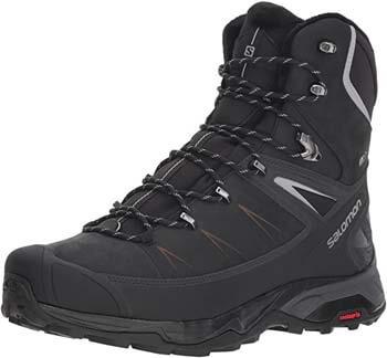 10. Salomon Men's X Ultra Winter CS Waterproof 2 Hiking Boot