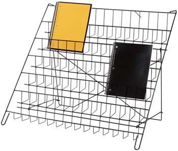 4. SSWBasics 6-Tier Black Wire Countertop Rack - 22