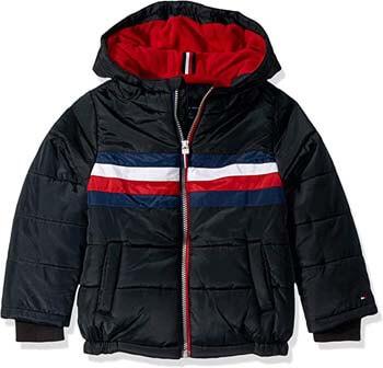 6. Tommy Hilfiger Boys' Logan Puffer Jacket