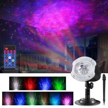 5. ALOVECO LED Laser Christmas Projector Lights