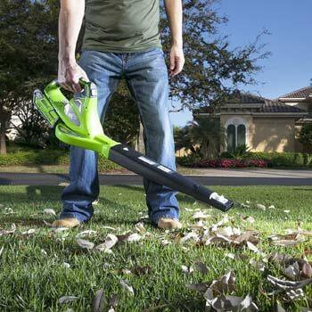 1. Greenworks 40V 150 MPH Variable Speed Cordless Leaf Blower