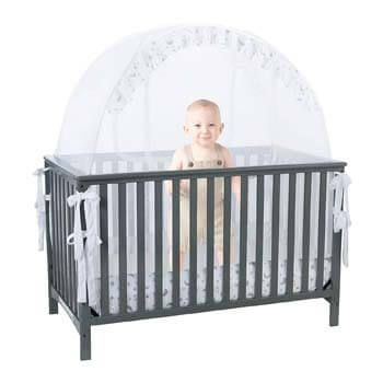 1. Pro Baby Safety Pop up Crib Tent
