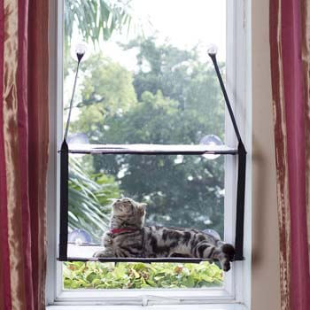 6. LIFIS Cat Window Perch Cat Window Bed