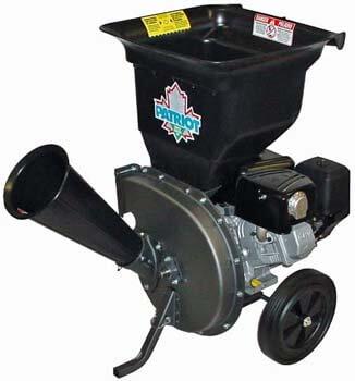 2. Patriot Products CSV-3100B 10 HP Briggs & Stratton Gas-Powered Wood Chipper/Leaf Shredder