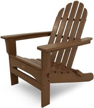 4. Trex Outdoor Furniture Cape Cod Folding Adirondack Chair
