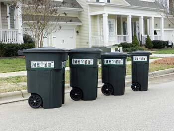 8. The Toter Residential Curbside Heavy Duty Trash Can