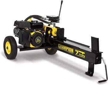 10. Champion 7-Ton Compact Horizontal Gas Log Splitter with Auto Return: