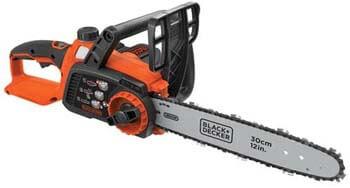8. BLACK+DECKER 40V Max Cordless Chainsaw, 12-Inch (LCS1240)