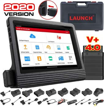 9. LAUNCH X431 V+ Full System Scan Tool Diagnostic Scanner Bi-directional Code Reader