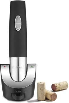 5. Cuisinart Vacuum Sealer Cordless Wine Opener
