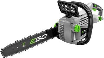 3. EGO Power+ CS1600 16-Inch 56V Lithium-ion Cordless Chainsaw
