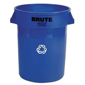6. Rubbermaid Commercial Brute Recycling Bin