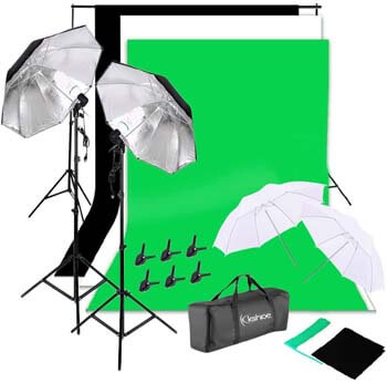 8. Kshioe Background Support System Lighting Kit