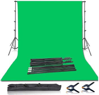 4. Emart Photo & Video Studio - Backdrop Stand Kits