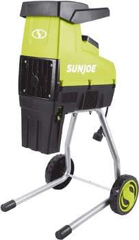 10. Sun Joe CJ603E 15-Amp 1.7-Inch Cutting Diameter Electric Silent Wood Chipper/Shredder, Green