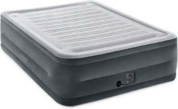 2. Intex Dura-Beam Deluxe Comfort Plush Elevated Airbed Series