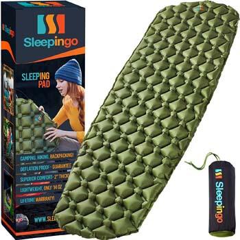 1. Sleepingo Camping Sleeping Pad