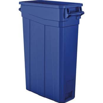 10. AmazonBasics 23-Gallon Slim Trash Can with Side Handles