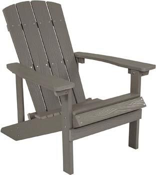 1. Flash Furniture Charlestown All-Weather Adirondack Chair