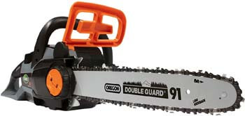 1. Scotts LCS31140S 14 in. 40-Volt Lithium-Ion Cordless Chainsaw