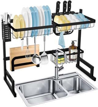 6. SOLEDI Over Sink Dish Rack