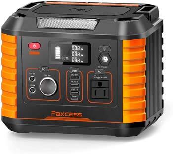 7. PAXCESS 330W/78000mAh Portable Camping Generator