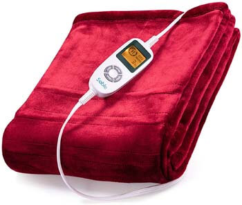 2. Electric Heating Blanket Twin, Sable 50