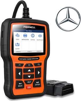 2. FOXWELL NT510 Elite Scanner for Mercedes Benz/Sprinter/Smart Full System Bi-Directional OBD2 Code Reader Professional