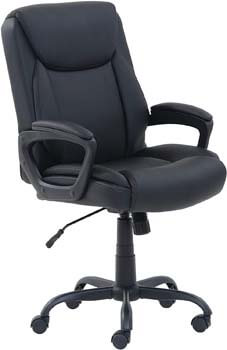 4. AmazonBasics Classic Mid-Back Office Computer Desk Chair with Armrest