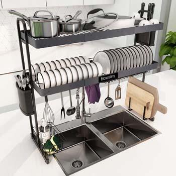 5. Boosiny Over Sink Dish Drying Rack
