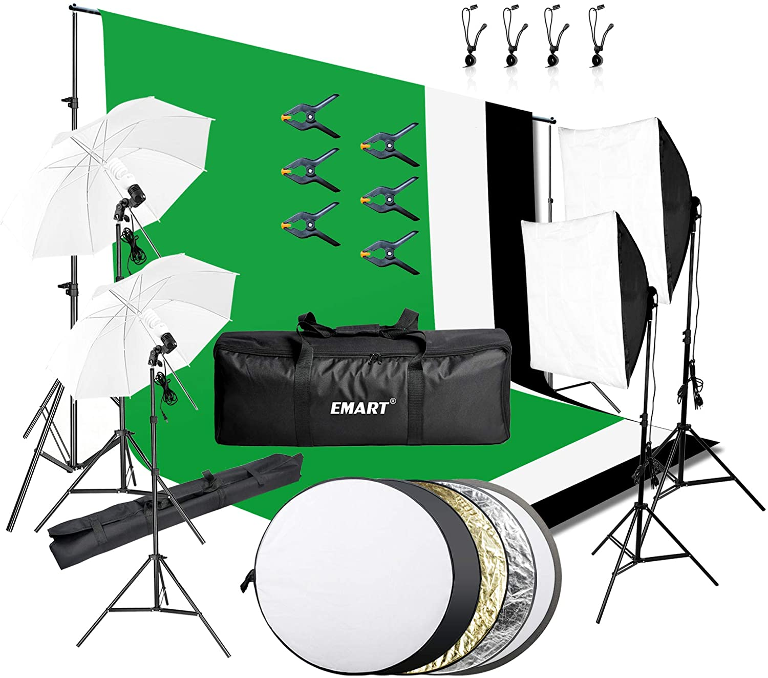 5. Emart Photography & Video Studio Lighting Kits